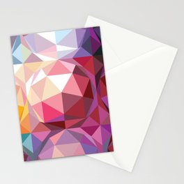 Geodesic dome pattern Stationery Cards
