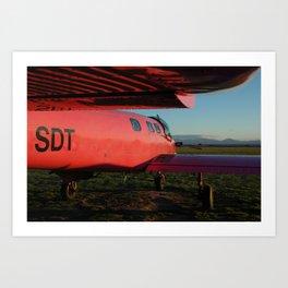 Lake Taupo, NZ Art Print