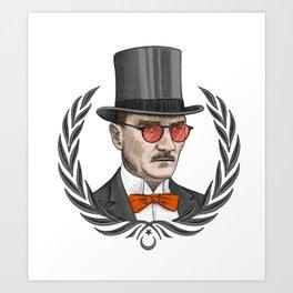 Mustafa Kemal Atatürk Art Print