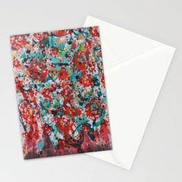 Bleeding Roses Stationery Cards