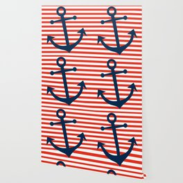 Nautical Anchor Wallpaper
