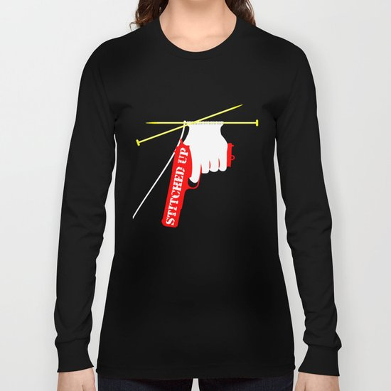 Stitched Up Long Sleeve T-shirt