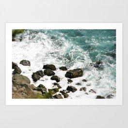 Pacific Coast Highway Art Print