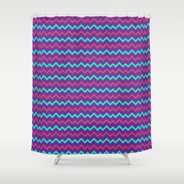Home energy and joy Abstract pattern Shower Curtain