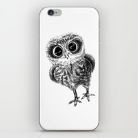 the who iPhone & iPod Skins featuring Who? by Sandra Hedicke Clark