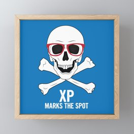 XP Marks the Spot Framed Mini Art Print