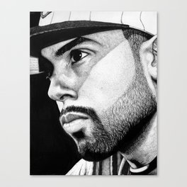 Cody B. Ware in ink Canvas Print