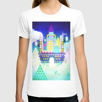 castle in the sky T-shirts featuring Castle in the Sky by Alexander Pohl
