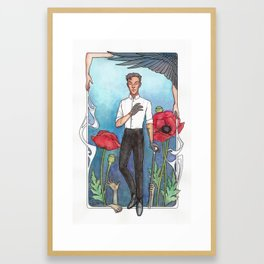 Kaz - Art Nouveau Framed Art Print