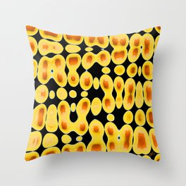 Playing With Eggs Throw Pillow