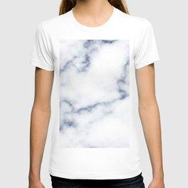 Marble White & Blue T-shirt