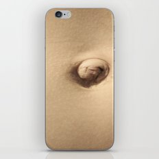 ombligo iPhone & iPod Skin