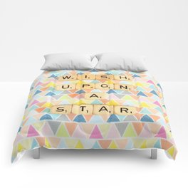 Wish Upon A Star Comforters