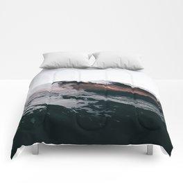Mount Rainier VII Comforters
