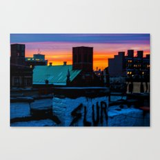 Vintage/Offensive Canvas Print