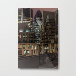 London, 30 St Mary Axe Metal Print