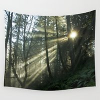 breaking Wall Tapestries featuring Breaking Through by Lawson Images