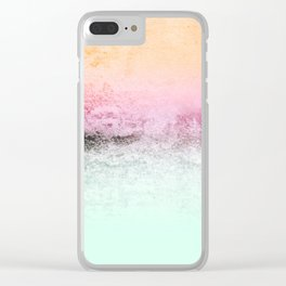 SUNDREAMER MINT Clear iPhone Case