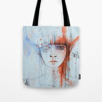 persona Tote Bags featuring Persona sin fin by DizzyNicky