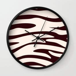 Animal Print Pattern – Zebra 2 Wall Clock