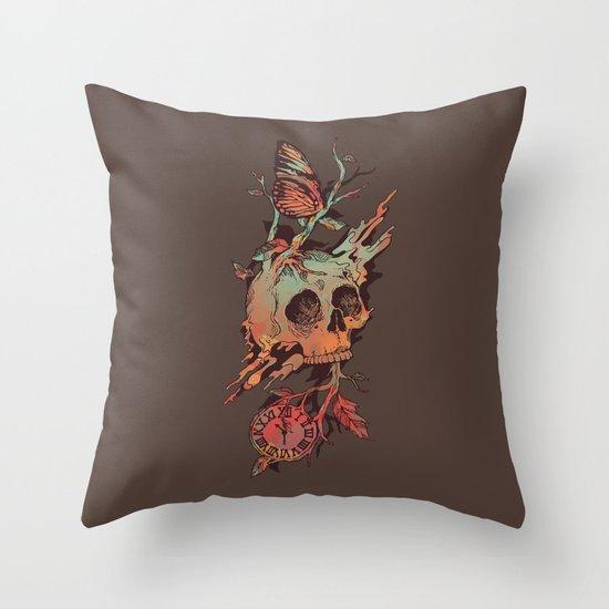 Mors et Natura Throw Pillow