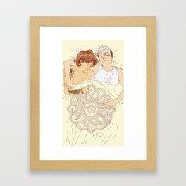 """ LOUIS CENTRIC nouis "" Framed Art Print"