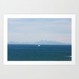 ship to new shores Art Print