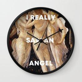Harry Styles + Botticelli Wall Clock