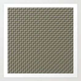 Tight Weave in CMR 03 Art Print