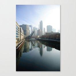 Mirror River Canvas Print