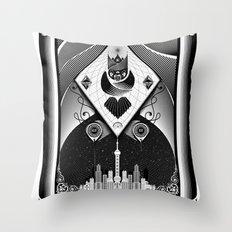 Shanghai Coup d'Etat Throw Pillow