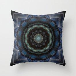 Indigo Soul Throw Pillow