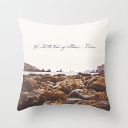 The Tonic Of Wildness Throw Pillow
