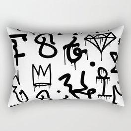 Diamonds & Crowns Rectangular Pillow