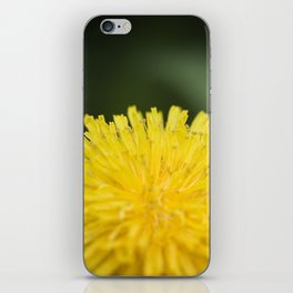 Yellow Pom Pom Flower iPhone Skin