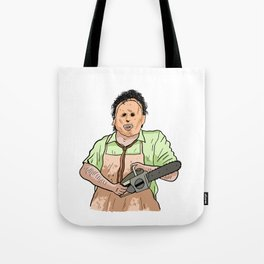 Leatherface (The Texas Chainsaw Massacre 1974) Tote Bag