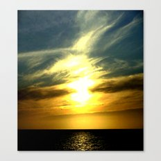 Sunrise over Bass Strait - Tasmania Canvas Print