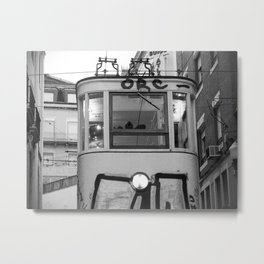 tramway de Lisboa Metal Print