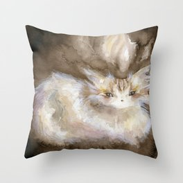 Subhuti Throw Pillow