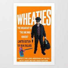 Wheaties - Walter White Art Print