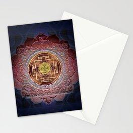 Sensual Flow Lakshmi Meditation Mandala Stationery Cards