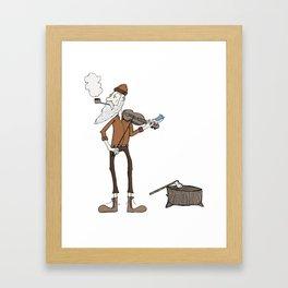 The Lumberjack Framed Art Print