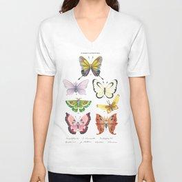 Butterfly Pokémon of the World Unisex V-Neck