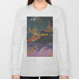 Paul Gauguin - Fatata te Miti (By the Sea) Long Sleeve T-shirt