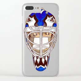 Potvin - Mask Clear iPhone Case