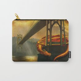 The Dragon of the St Johns Bridge Carry-All Pouch
