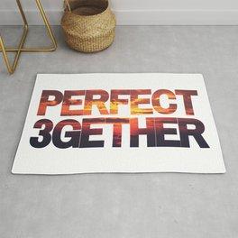 Perfect 3gether | Throuple | Triad | Polyamory Rug