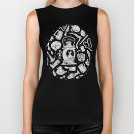 Songs of the Dark Lantern Biker Tank