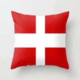 Flag of Savoie Throw Pillow