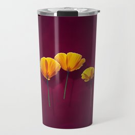 Three Poppies Travel Mug